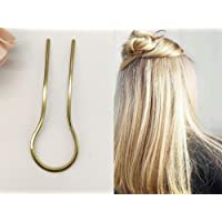 Rachel\u2019s Hair Candy Handmade Hair Pin AVA Trio of Labradorite /& Oxidized Copper Hair Pins