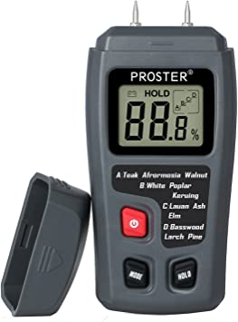 Draper Misuratore umidità per misurare acqua in Legno Intonaco Calcestruzzo /& 43618