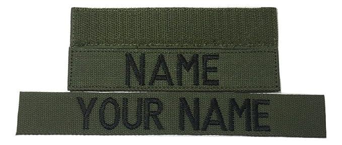 Amazon.com: Cinta adhesiva para nombre o rama, color verde ...