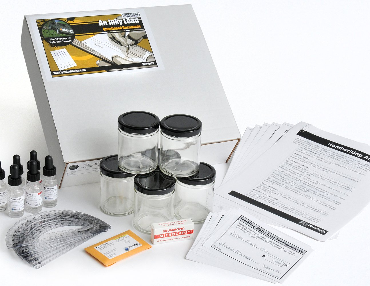 Crosscutting Concepts VXH10132 Lyle and Louise An Inky Lead Questioned Documents Analysis Kit