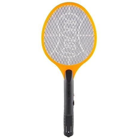 Akari Rechargeable Electronic Mosquito Killer Bat Orange Amazonin