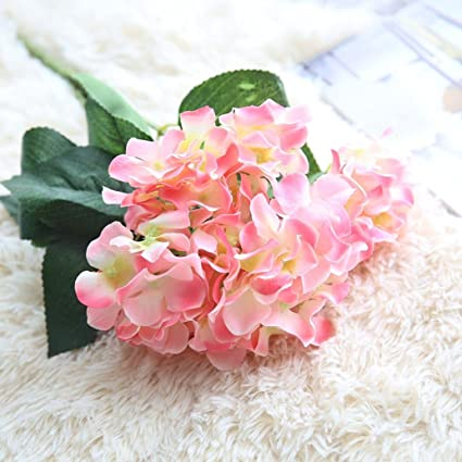 Amazon.com: Lanhui_Faux Artificial Silk Floral Flower Bouquet ...
