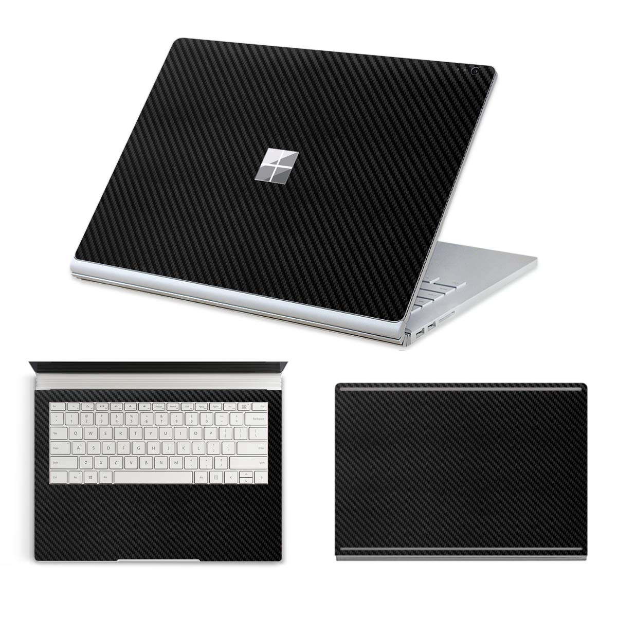 Masino Premium TPU Keyboard Cover Ultra Thin Keyboard Protector Skin for 13.5' 13.5 inch Microsoft Surface Book 2 (2017 Released) (for 13.5' Surface Book 2 (Intel Core i5), TPU Keyboard Skin- Clear)