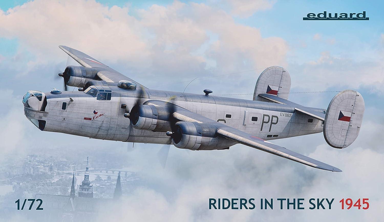 【メーカー直送】 EDU02123 1:72 Eduard 1:72 Liberator Liberator GR Mk.VI/VIII Riders in Riders The Sky 1945インチ [モデル組み立てキット] B07K2J8P4N, 丸福靴店-アメ横:4bf79003 --- wap.milksoft.com.br