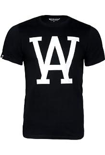 WOLDO Athletic I T-Shirt Herren I Rundhals-Ausschnitt I Baumwolle I Kurzarm  I 85b8184382