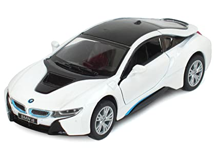 Amazon Com 1 36 Scale Car Model Concept Car Bmw I8 Diecast Metal