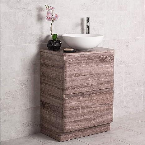 Amazon.de: Aquariss Design Badezimmer 600mm Waschtisch Unterschrank ...