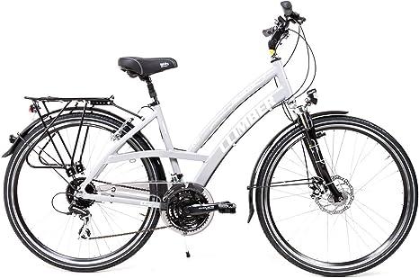 Sprick - Bicicleta de Trekking para Mujer, 28 Pulgadas, Aluminio ...