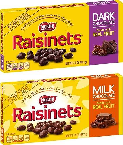 アメリカのお菓子、レーズネッツの種類