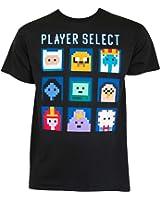 Adventure Time Player Select Tee Shirt