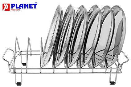Planet Stainless Steel Plate Rack / Dish Rack / Plate Stand / Dish Stand / Utensil  sc 1 st  Amazon.in & Buy Planet Stainless Steel Plate Rack / Dish Rack / Plate Stand ...