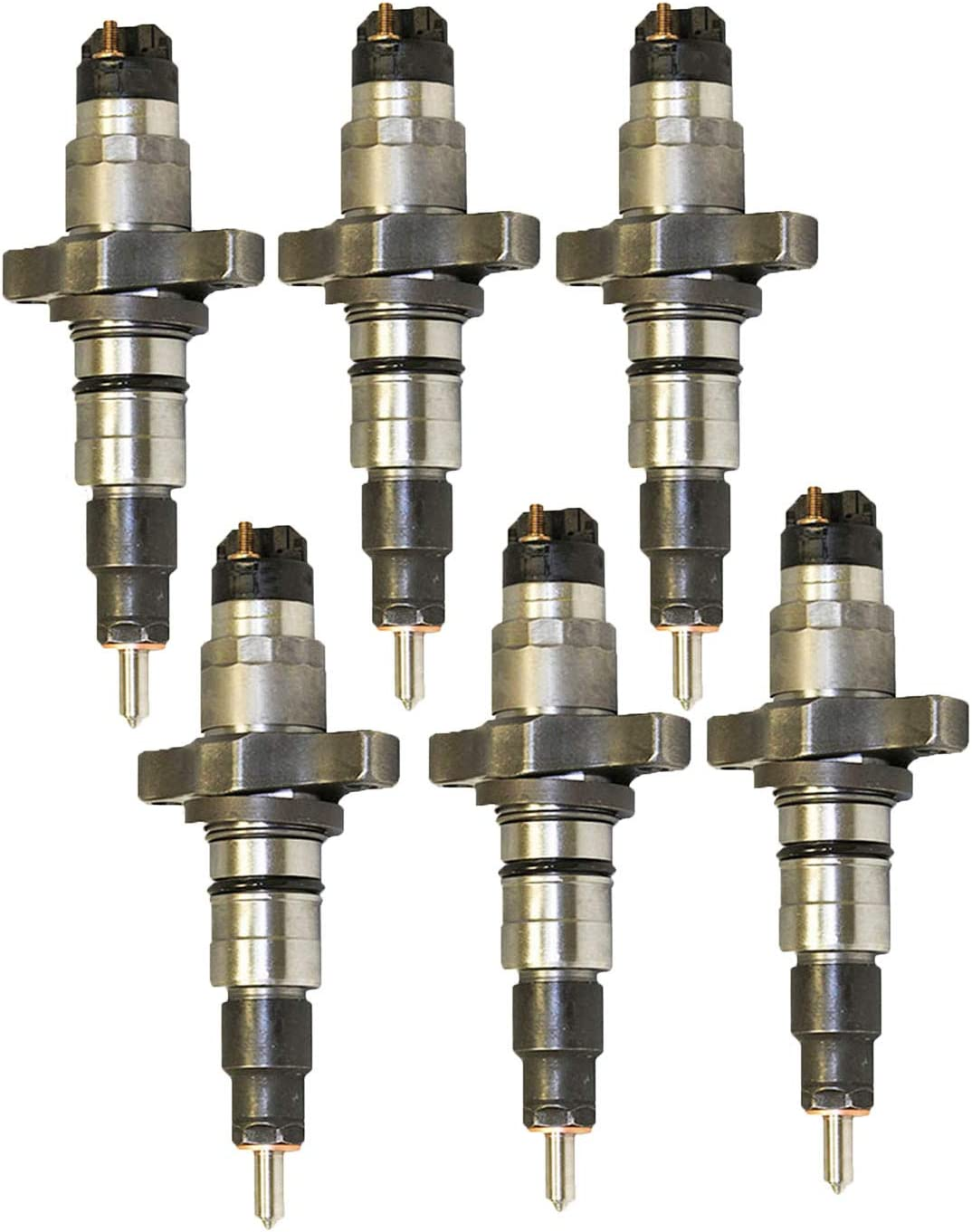New Fuel Injector Fits 04-09 Dodge Ram Cummins 5.9L Diesel 0445120238 0986435505