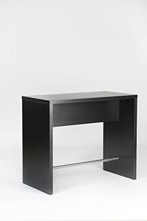 Furniture To Go Designer Bar Table, 100 x 120 x 60 cm, Black: Amazon ...