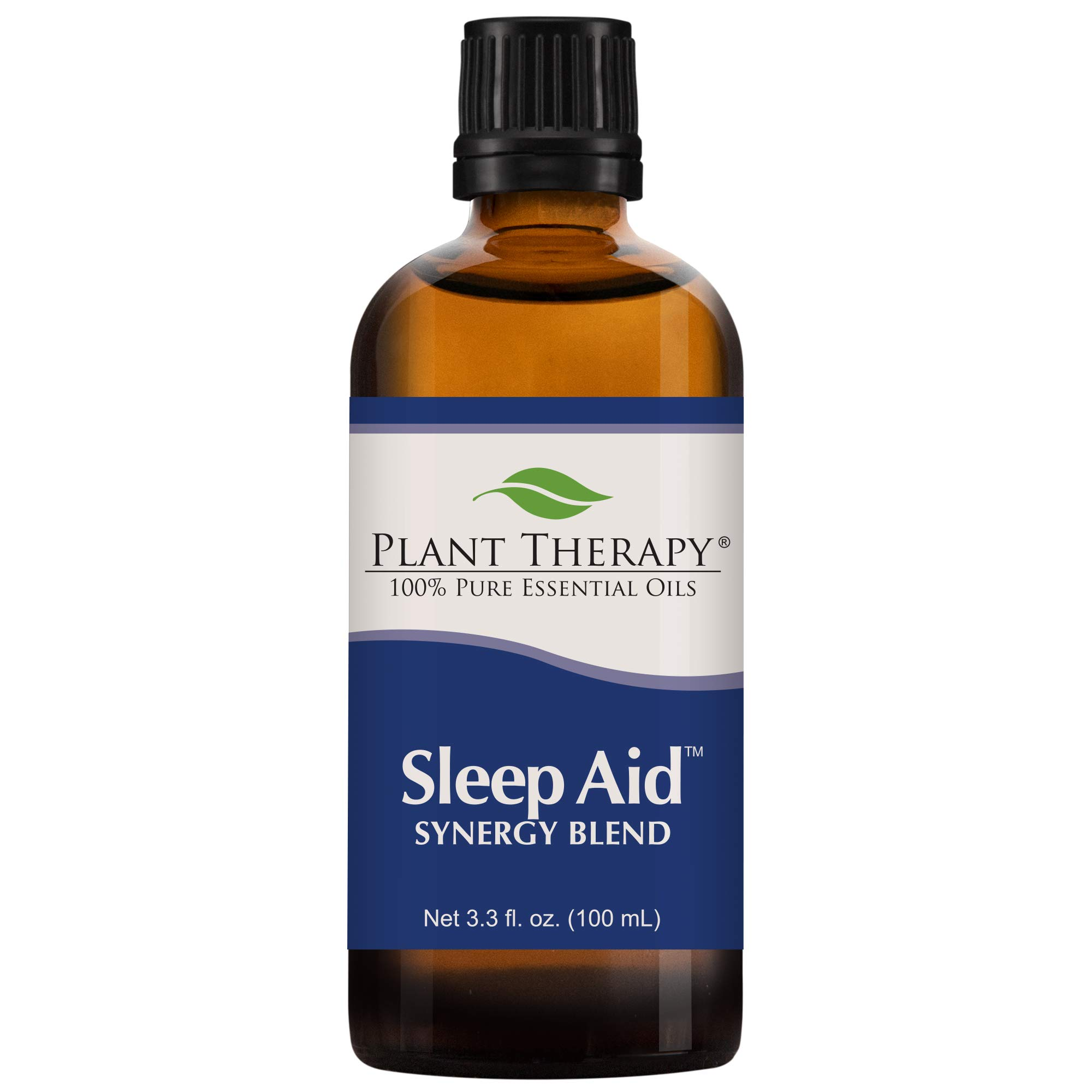Plant Therapy Essential Oils Sleep Aid Synergy - Calming & Sleep Blend 100% Pure, Undiluted, Natural Aromatherapy, Therapeutic Grade 100 mL (3.3 oz) by Plant Therapy