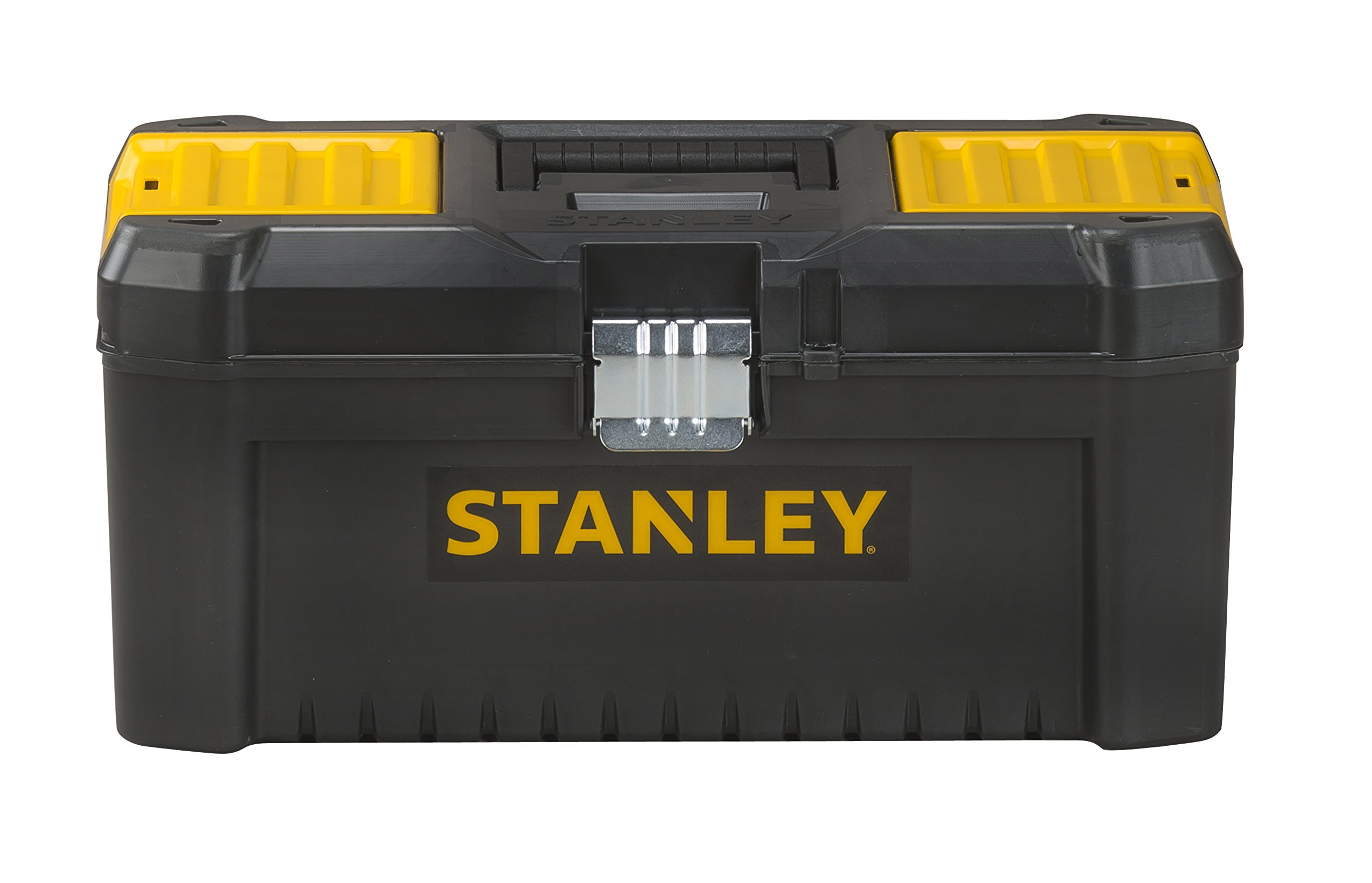Stanley Tools Basic Toolbox with Organiser Top & Geometric Lock Latches | 16in by Stanley Tools (Image #1)