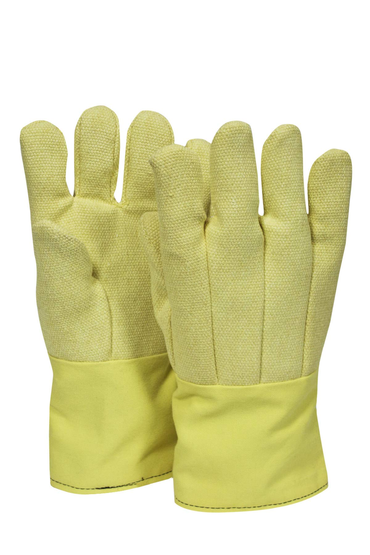National Safety Apparel G51TCVB11514 Thermobest Glove with Extra Nomex Palm Patch, Large, Yellow by National Safety Apparel Inc (Image #1)