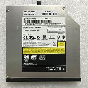 Nbparts Brand New 8X DVD RW RAM Drive for Lenovo Thinkpad T420 T420i T430 T430i Sata Interface DL Burner 24X CD Writer 75Y5115 45N7544
