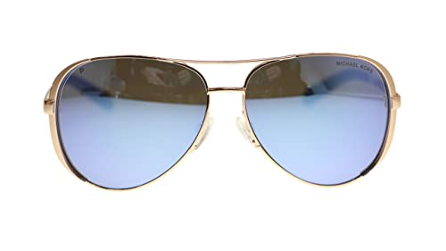 49a0063151 Michael Kors MK5004 Chelsea Polarized Sunglasses Rose Gold w Purple Mirror  (1003 22) MK 5004 100322 59mm Authentic  Amazon.ca  Jewelry