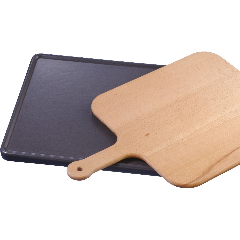 Neff Z1913x 0Wooden Brick Ceramic Bread Pizza Board pellette Dishwasher Accessories 360x 375mm Z1913X0
