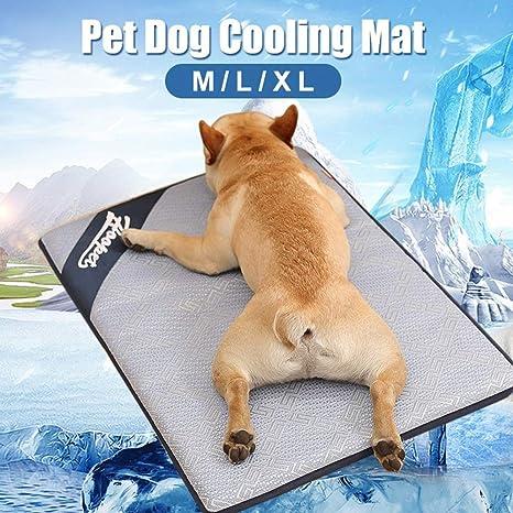 Colchón de Refrigeración para Mascotas Gatos y Perros de ...