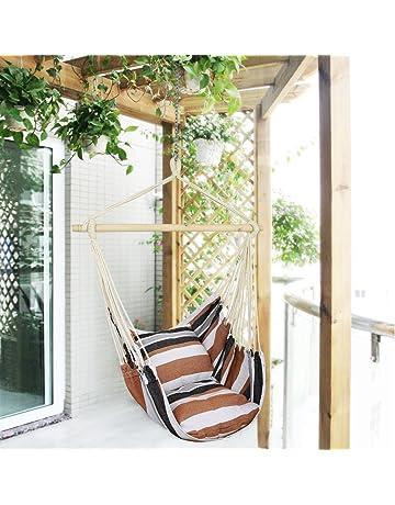 Poltrone Sospese Da Giardino.Sedie Sospese Giardino E Giardinaggio Amazon It