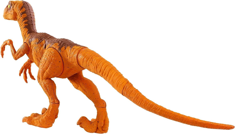 "12/"" Large Tyrannosaurus Rex Raptors Two Velociraptors Dinosaurs Toys T-Rex"