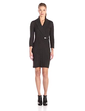 48bcaf730f6 Calvin Klein Women s Cable-Knit Sweater Dress at Amazon Women s ...