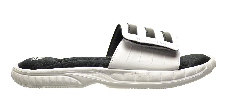 release date 89c6c 90c1b Amazon.com   adidas Superstar 3G Men's Slides White/Black ...