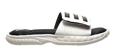 432747e81b9a adidas Superstar 3G Men s Slides White Black Metallic Silver g61951 White  Size  13.5