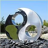 CLGarden Edelstahl Element Yin Yang Zum Bau Für Gartenbrunnen Springbrunnen  Zierbrunnen Skulptur Wasserspiel Brunnen