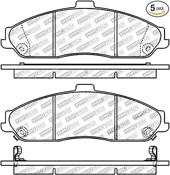 StopTech 308.06310 Street Brake Pads 5 Pack