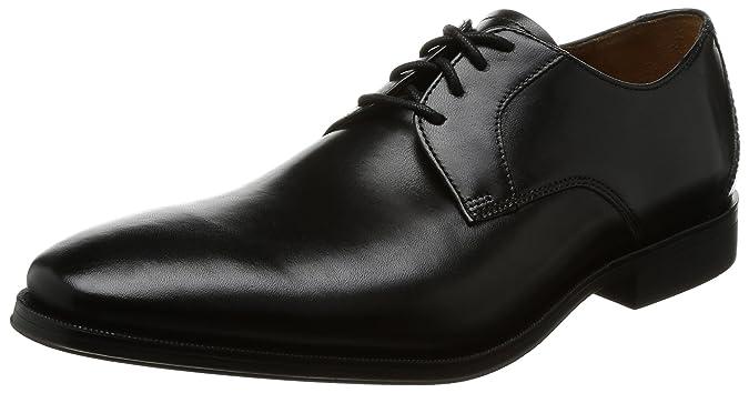 c8720ac9d5a24 Clarks Men's Gilman Lace Derbys: Amazon.co.uk: Shoes & Bags