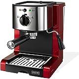BEEM Germany Espresso Perfect, Machine à Expressos Professionnelle, rouge brillant