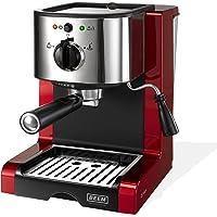 BEEM Espresso Perfect Espresso-Siebträgermaschine mit italienischer Profi-Pumpe und integriertem Milchaufschäumer