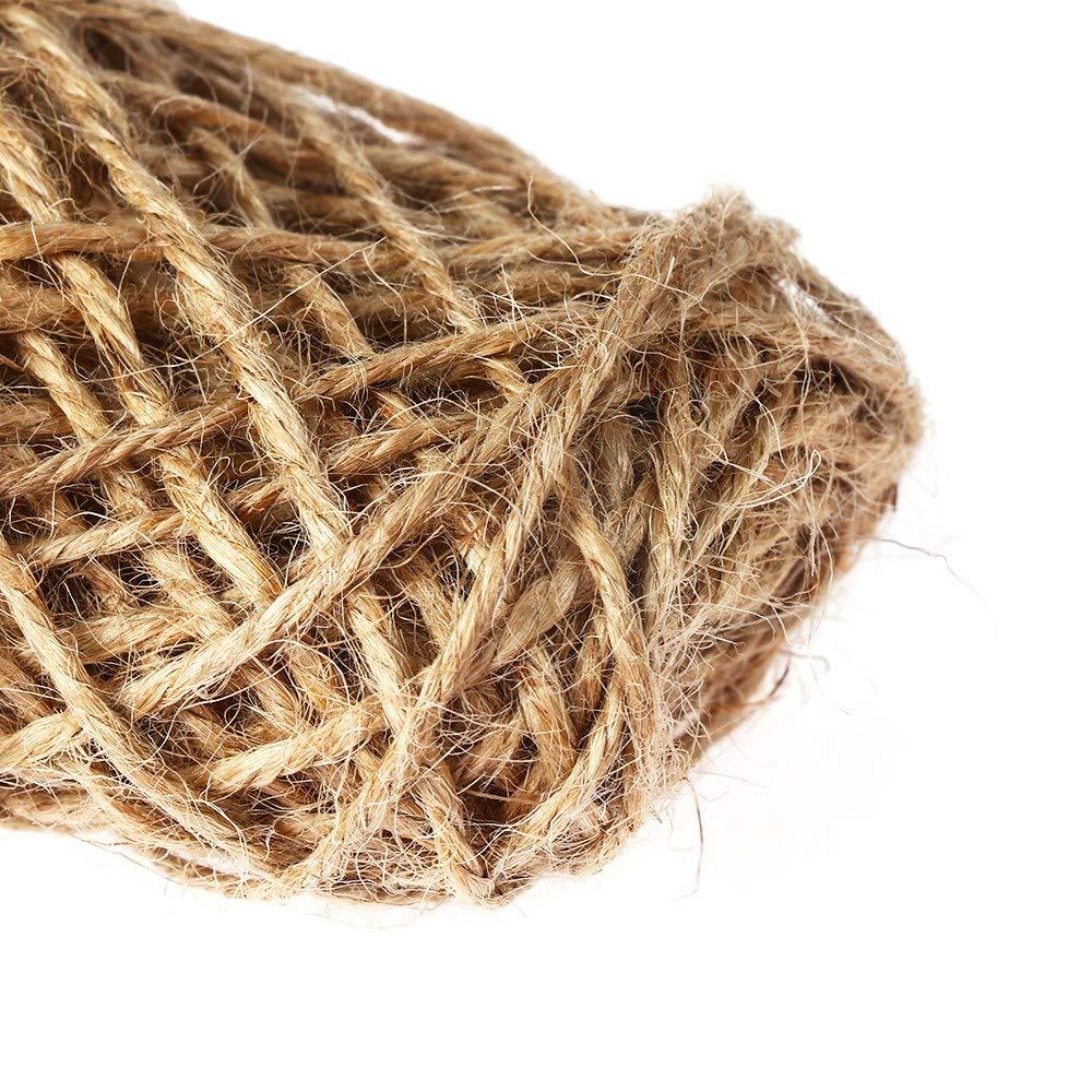 0bb2f76becf4 Amazon.com: Bag Shop - 10m Natural Cords Woven Roll Hemp Rope Diy ...