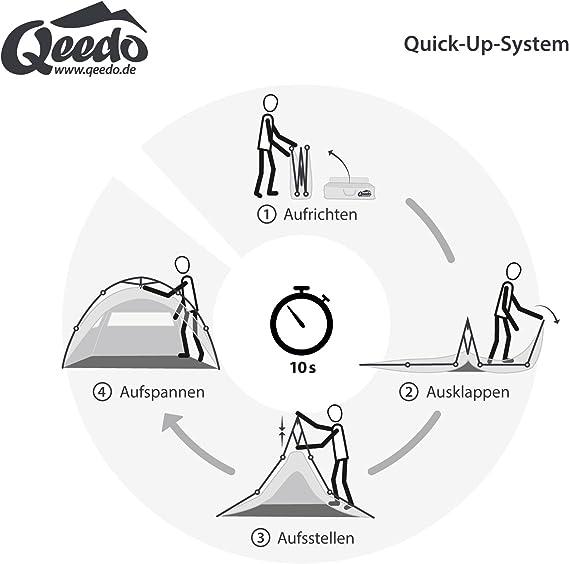 Quick Up System Qeedo Quick Ash 2 Tienda Igl/ú 2 Personas