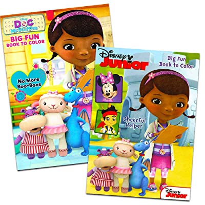 Doc Mcstuffins Set of 2 Coloring Books: Toys & Games