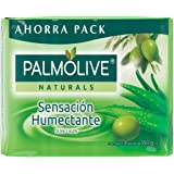 Jabón de Tocador Palmolive Naturals Aloe y Oliva en Barra, 150 g, 4 Piezas