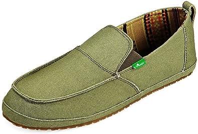 Sanuk - Mens Sandals - Hemp - Olive