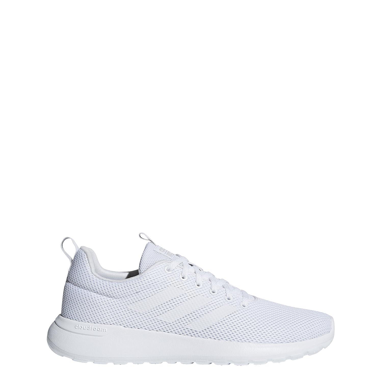 adidas Men's Lite Racer CLN Running Shoe B077XFG548 4 D(M) US|White/White/Grey