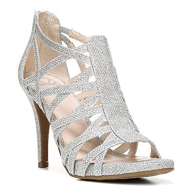 Fergalicious Womens Hattie Open Toe Casual Strappy Sandals Silver Size 90 MJE