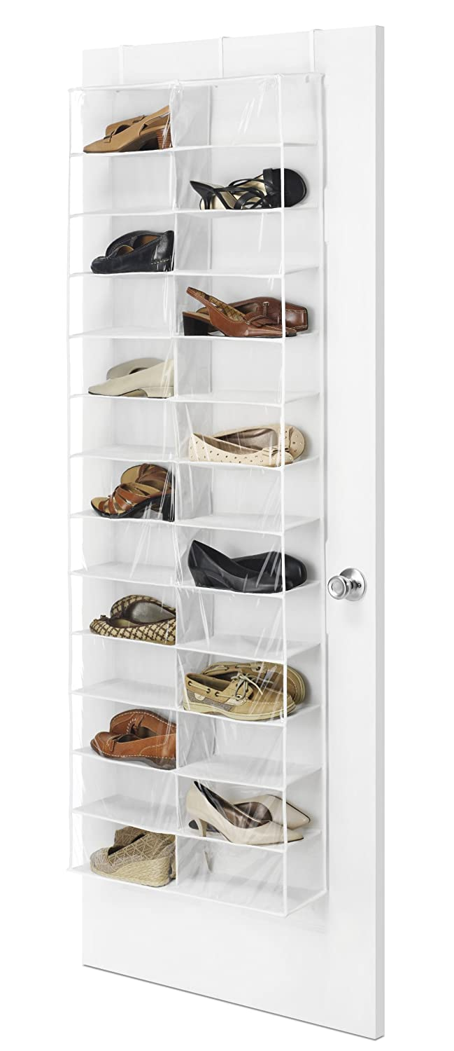 Whitmor Over the Door Shoe Shelves 26 Sections 6470-4457
