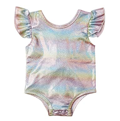 2a014b54a Amazon.com  Bowanadacles Summer Newborn Infant Toddler Baby Girls ...