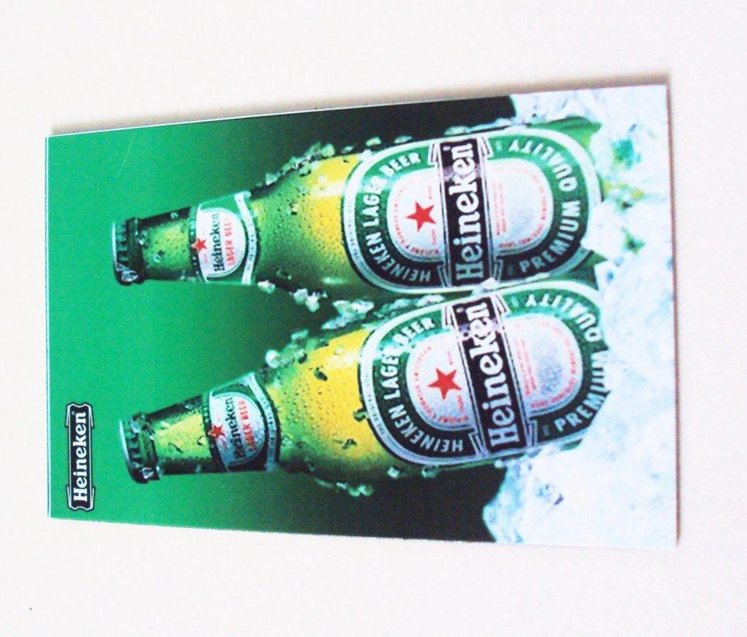 Agilidad doble botella de cerveza Heineken Art 1 Vintage ...