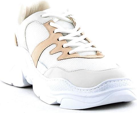 Jackye Sneaker - White/Pearl/Vanilla