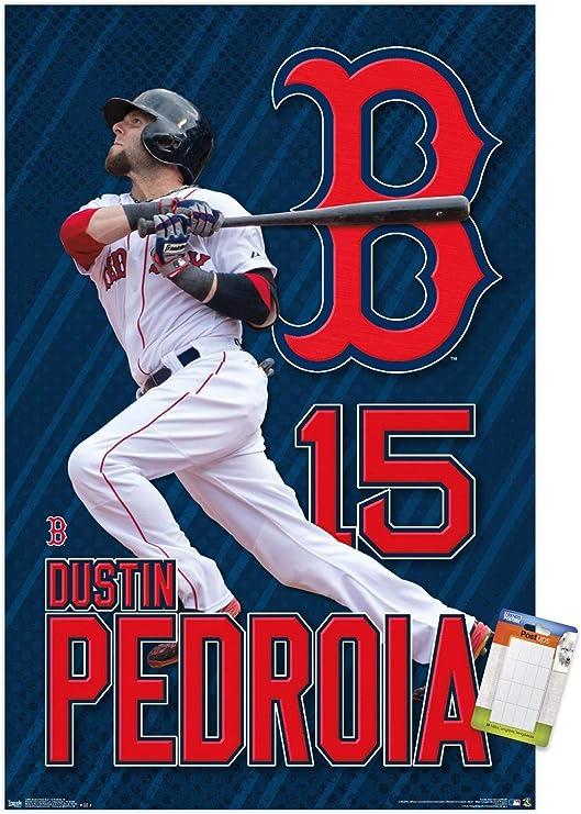 Logo Wall Poster Multi Trends International Boston Red Sox