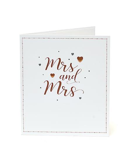 Carlton 555574-0-1 - Tarjeta de felicitación de boda con texto en ...