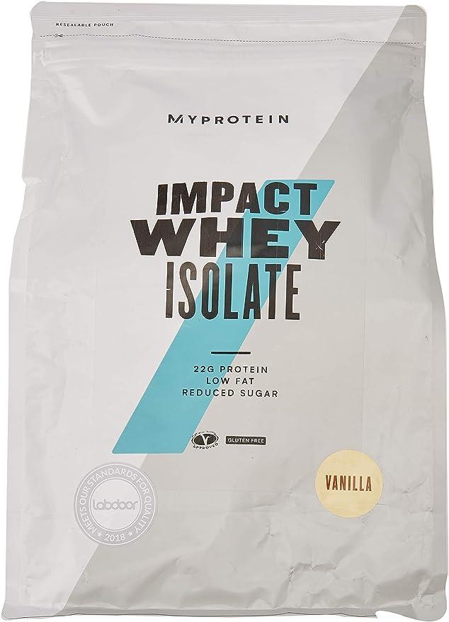 MyProtein Impact Whey Isolate (2500G) 2500 g: Amazon.es ...