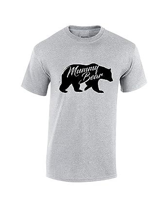 18bc9c11 Mummy Bear T-Shirt - Ladies & Unisex Sizes Mother's Day Birthday Gift Mum  Mama