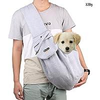 aokur Portátil Bolsa de Transporte para Mascotas Gato del Animal Doméstico del Perro Mochilas Bolsa de Hombro Bolsa de Viaje de Tela Bolso del Perrito